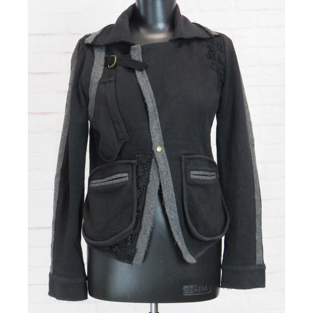 Куртка-жакет очень необычная!