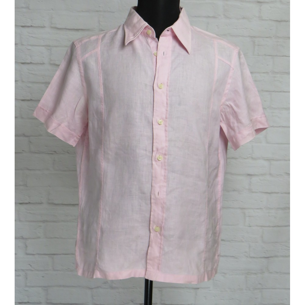 Рубашка льняная ZARA MAN