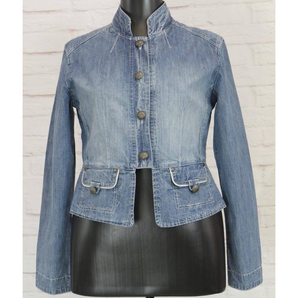 Куртка джинсовая с красивой спинкой
